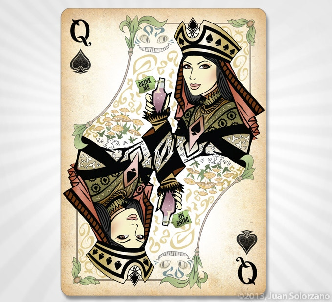 Queen Of Spades Gold Edition