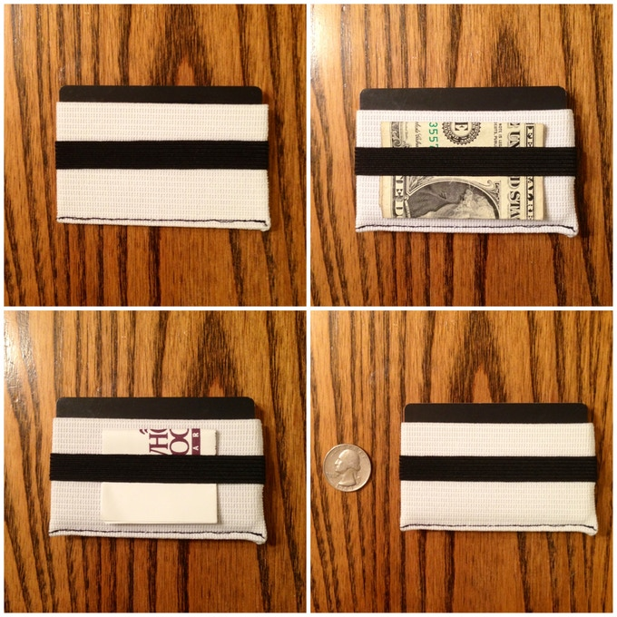 Prototype 1 - Profile View - Cards, cash and receipts.
