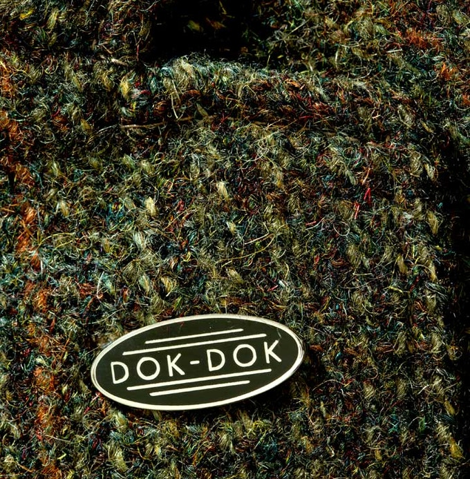 £6 pledge - A limited edition DOK-DOK Hard Enamel badge to recognize your support for the project.