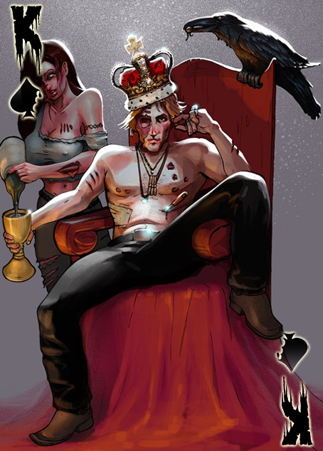 Zombie King of Aces