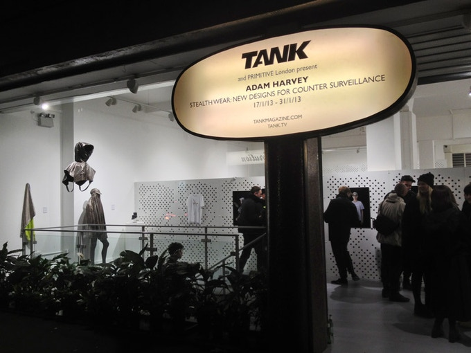 Stealth Wear Exhibition: Tank Magazine Gallery, London