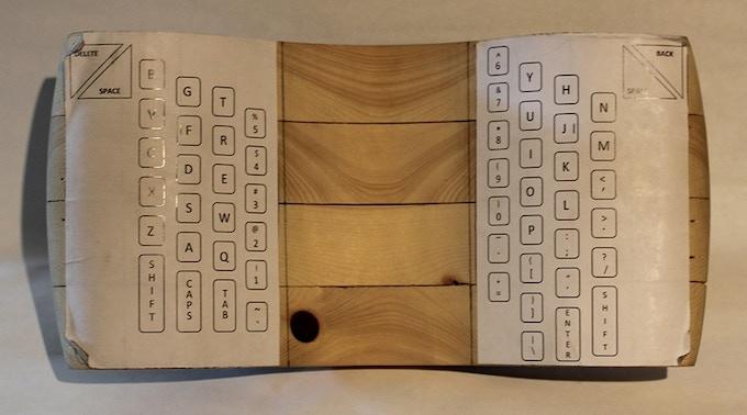 Wooden Model #3 (front)