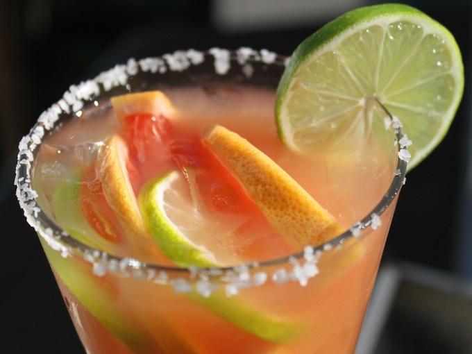 Roasted Grapefruit & Habanero Margarita