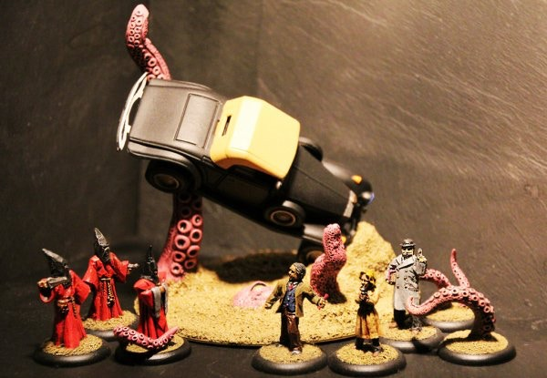 """""""There Goes the Escape Plan""""  Cultists I vs. Threshold Agents I from Brush Off! 2012"""