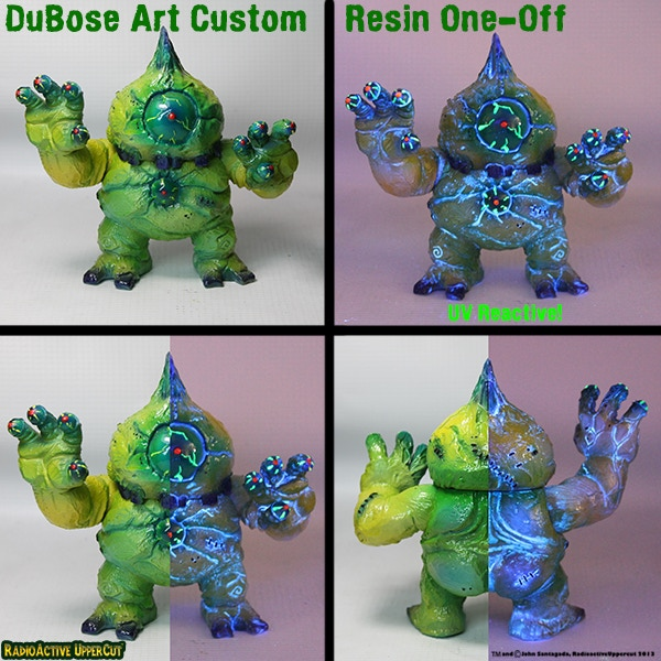 Has magnetic arm joints and is UV Reactive!!