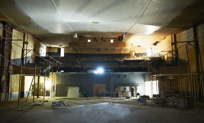Current interior of 620 Columbia St., Hudson, NY