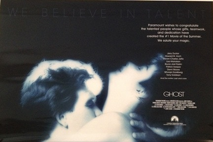 GHOST- We Believe in Talent- Movie Poster