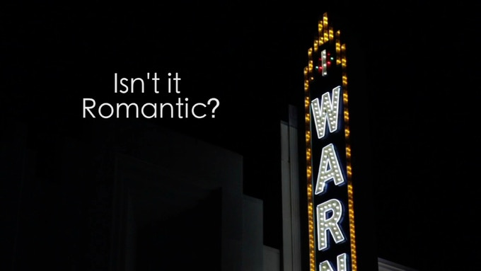 "Title Screen - ""Isn't It Romantic?"""
