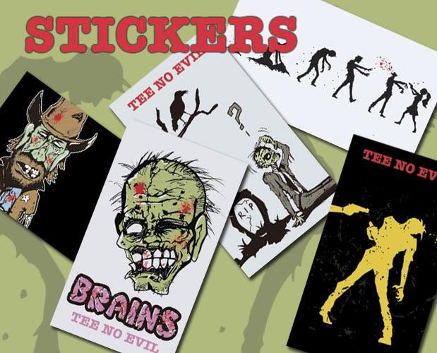 Tee No Evil Zany Zombie Shirts By Franco Te Kickstarter