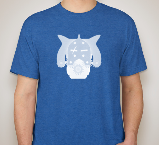 What we expect our shirt to look like once a design is chosen!