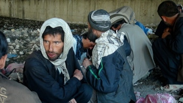 Opium addiction fuelled by Western occupation, Kabul, Afghanistan