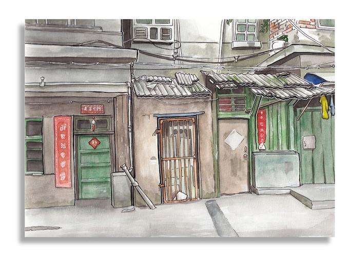 Doors, Jingdezhen, China