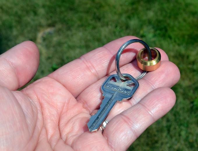 $10 Reward: Awesome External Brass Tip Weight #5, Keychain!