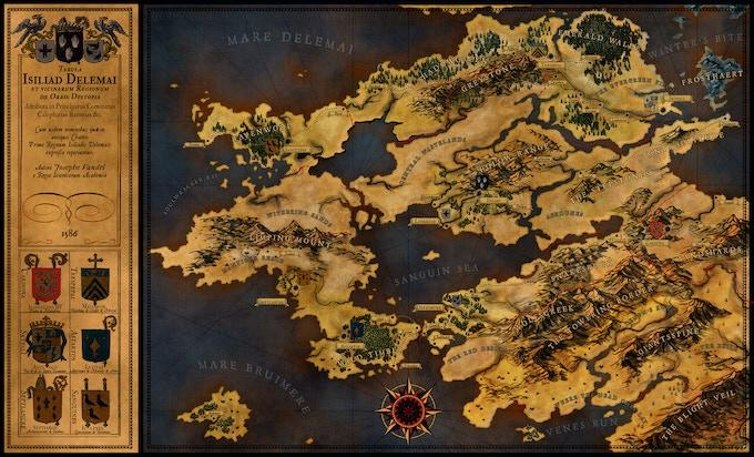 Map by Josephe Vandel