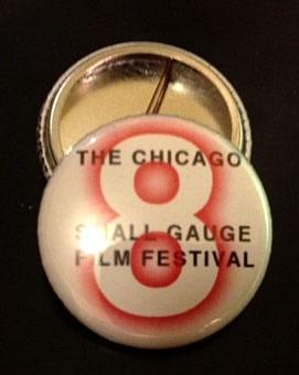 Chicago 8 Festival Button