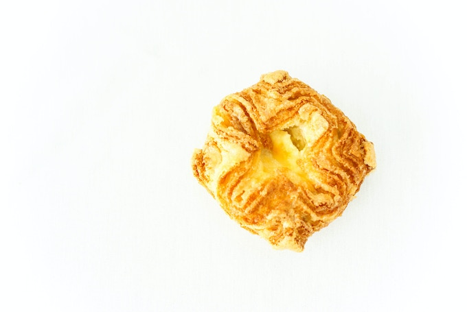 This Unique Flavor of Kouign Amann Just Oozes with the Glistening Porcelain Hued Silky Creaminess of Mascarpone Cheese