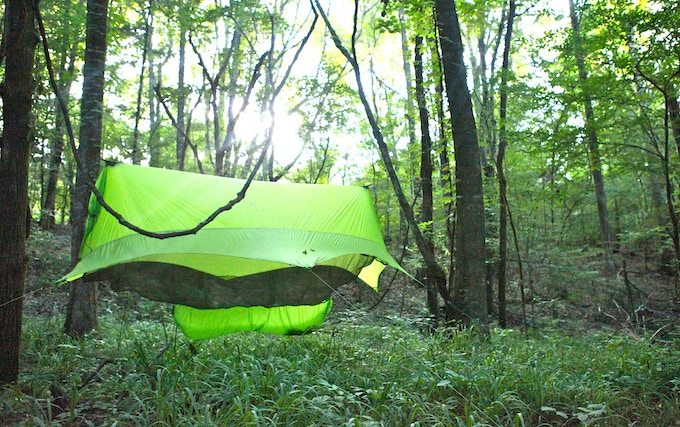 The Nubé from Sierra Madre Research: Offers complete protection for you and your gear!