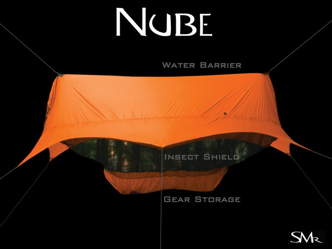 Water Barrier, Insect Shield, and Gear Storage all integrated into a single product!