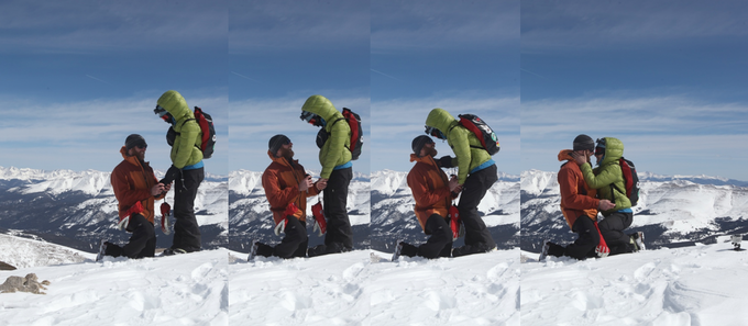 I asked Juli to be my wife on Mt. Lincoln, she said yes and now we're the SMr dynamic duo!