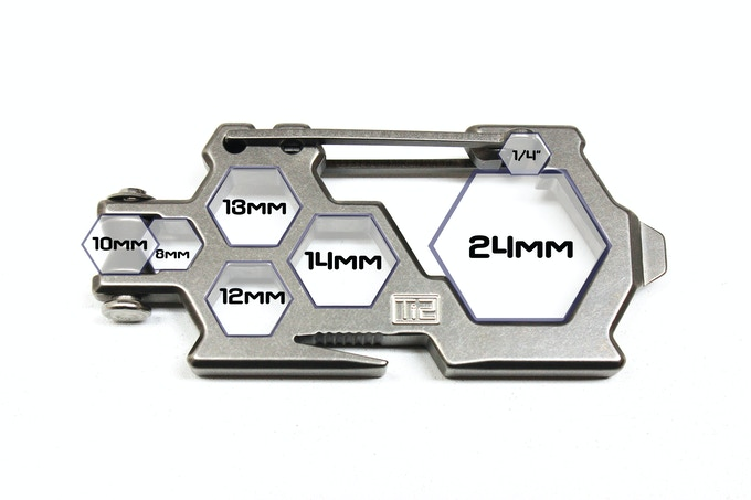 Ti2 Para-Biner PB-7 with Metric Hex Call Outs