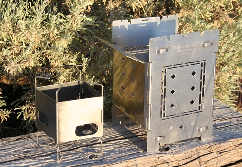 "DUO - 5"" Folding Firebox and 3"" Firebox Nano"