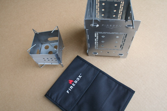 "DUO UPGRADE - 5"" Folding Firebox, 3"" Firebox Nano, and Cordura Carry Case"