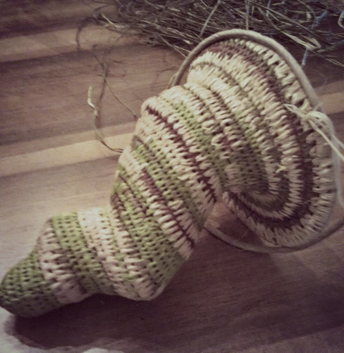 While this Cthulhu basket is still a work in progress, it gives a sense of its tentacle-y goodness!