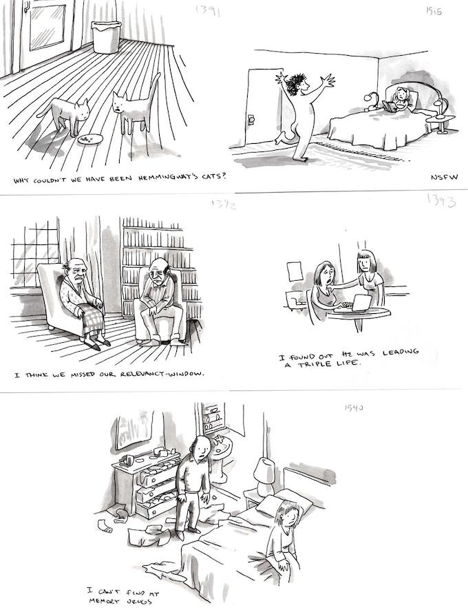 Shannon Wheeler's New Yorker cartoons