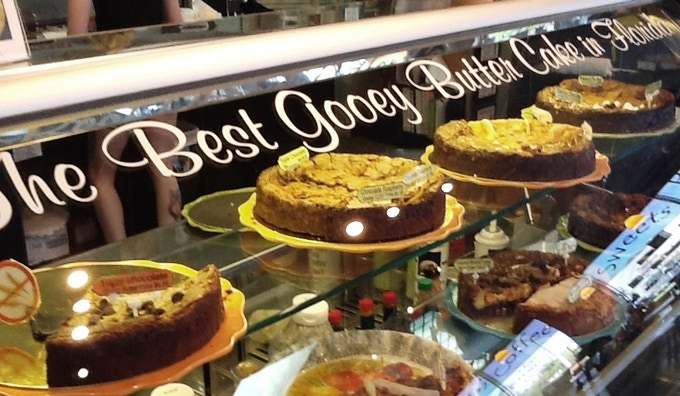 No visit to Punta Gorda is complete without a slice of Gooey Butter Cake from Pies & Plates!