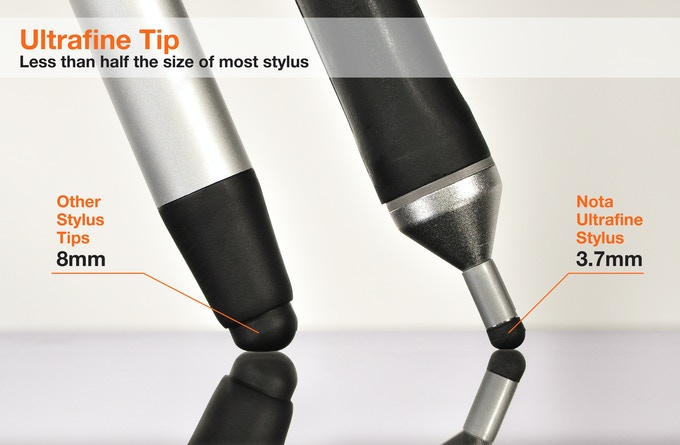 Nota - Ultrafine Tip, just 3.7mm - Functional Prototype Shown