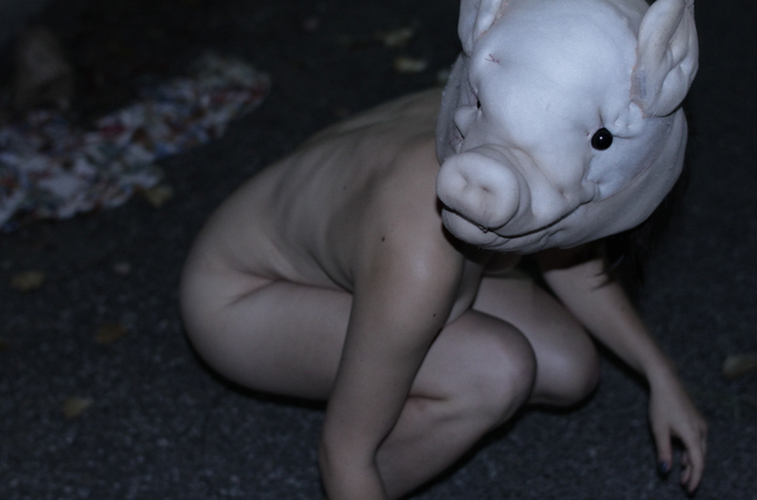 Pig mask used in Josephine's short