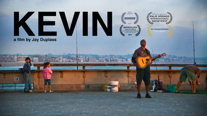 Signed DVD of the documentary KEVIN, about Austin singer-songwriter Kevin Gant, directed by Jay Duplass & edited by J. Davis
