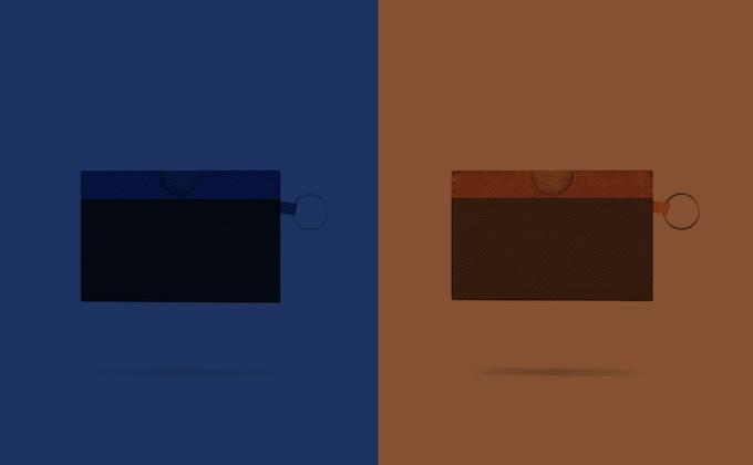 Blue/Black -  Brown/Brown