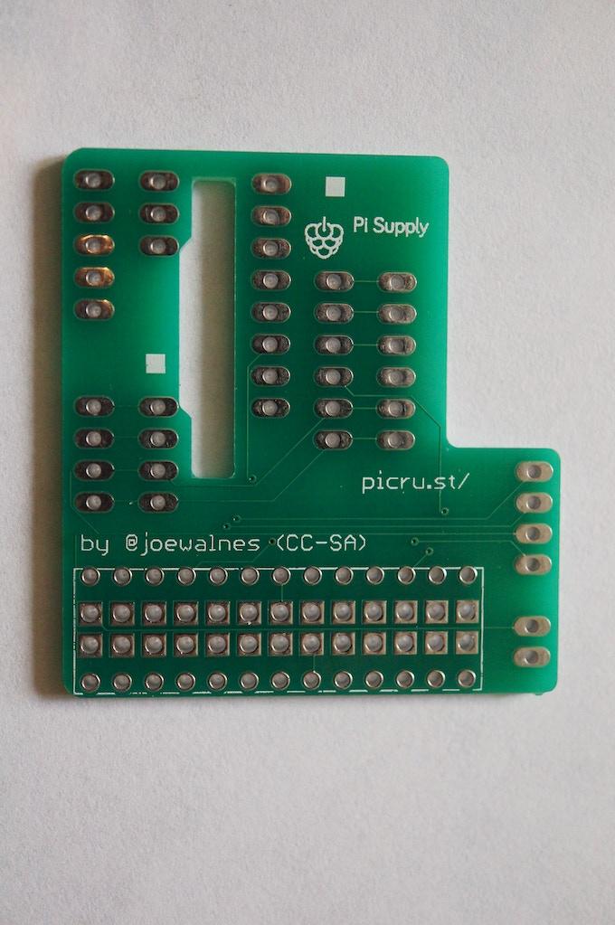 Reverse of Pi Crust PCB