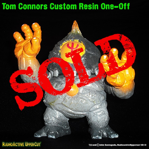 Custom Resin one-off figure by Tom Connors