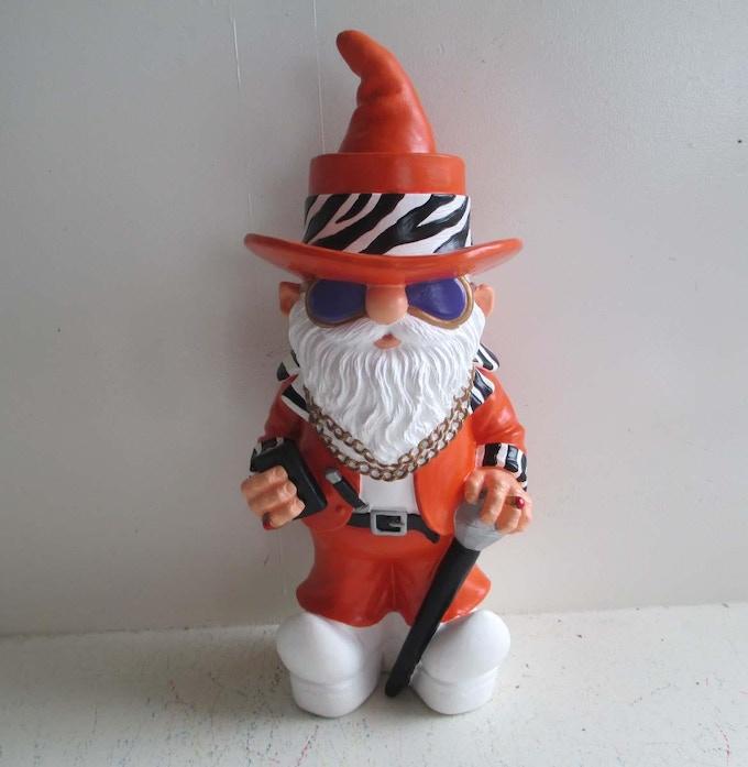 Prototype - Orange Pimp Gnome (front)