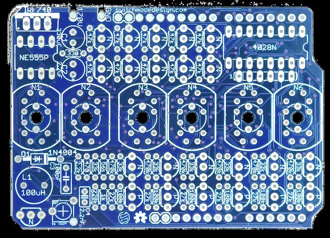Open Source Nixie Tube Shield by Tyler Nehowig — Kickstarter