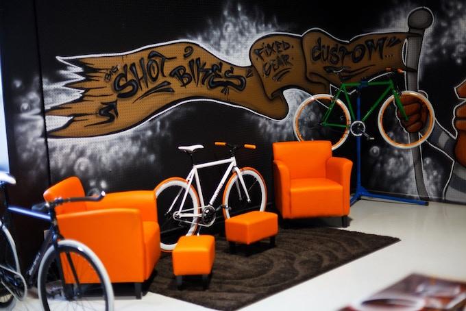 Big Shot Bikes Showroom