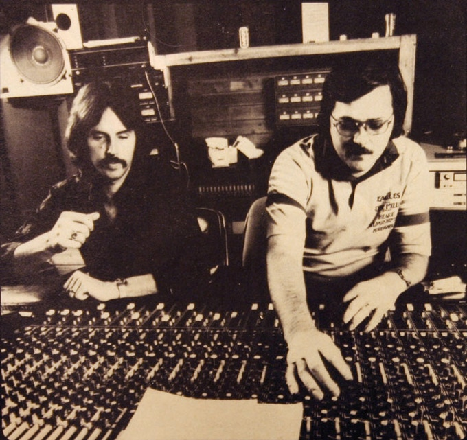 Rodney Mills (right), founder/engineer/producer at Studio One