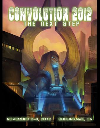 The cover for Convolution 2012's Souvenir Program Book