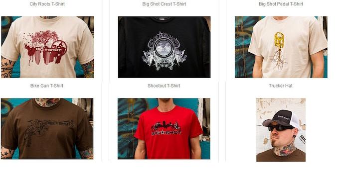 T-Shirts Pledge Rewards