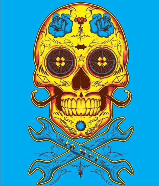 Day of the Dead - Sticker Set Artwork