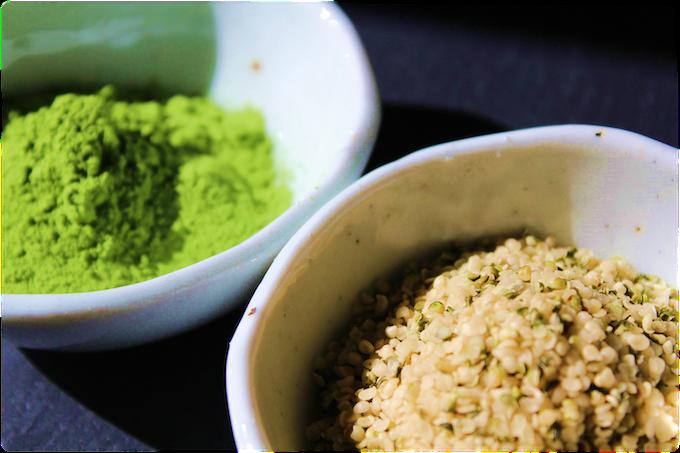 Matcha Green Tea & Protein-Packed Hemp Seeds