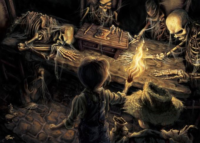 """Skeleton Room"" from OCTOBERS (novel series)"