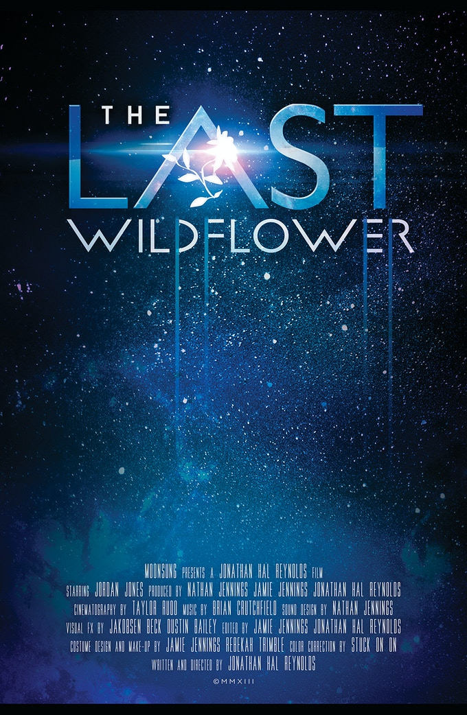 Poster for THE LAST WILDFLOWER (Written and Directed by Jonathan Hal Reynolds)