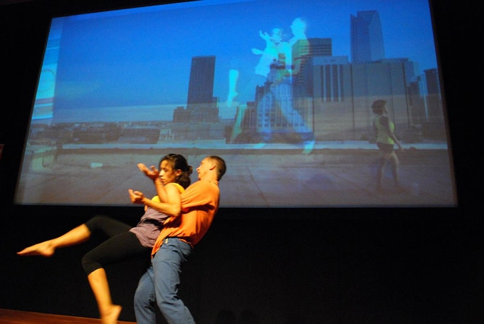 """""""Network"""" perfromance as part of Art Moves presented by OKC Arts Council"""
