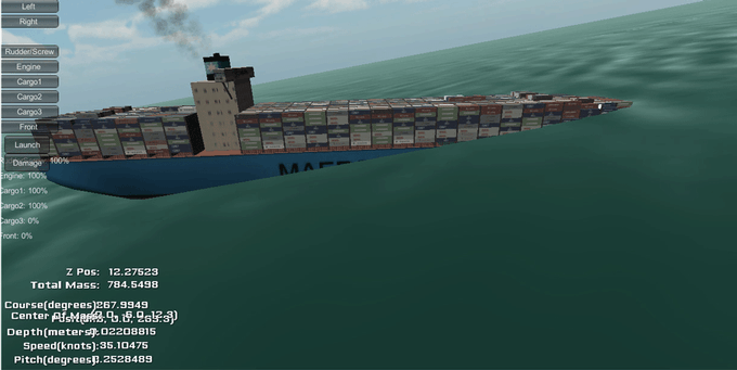 Sinking Ship test