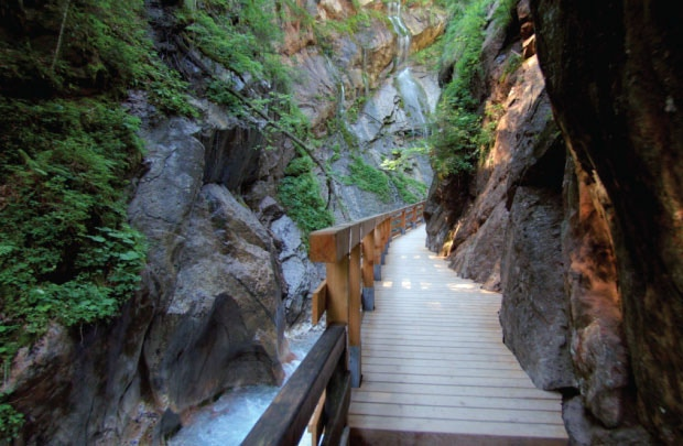 Explore Wimbachklamm in Bavaria's Berchtesgaden National Park.