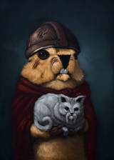 Kitty Pawn character portrait