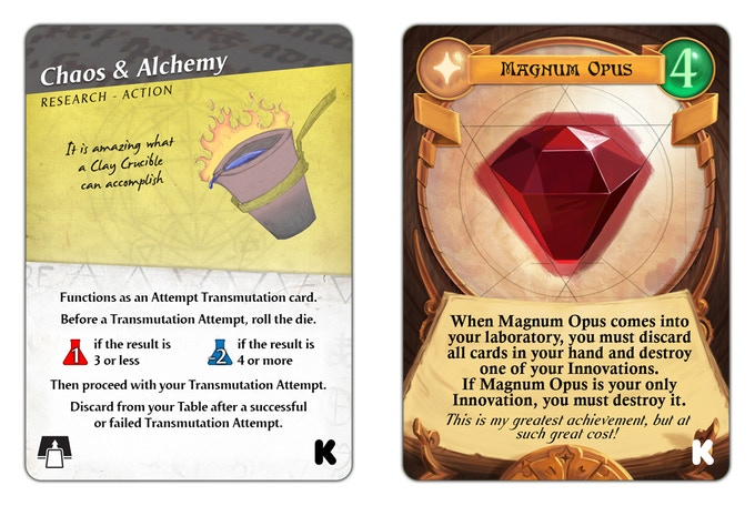 Magnum Opus and Chaos & Alchemy have joined forces to create these exclusive promo cards - check out Chaos & Alchemy today!